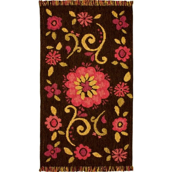 Carpeta Anthropologie Chocolate fucsia