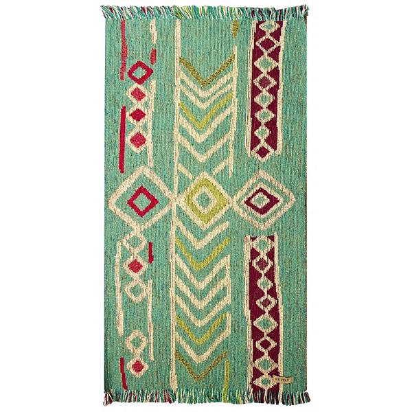 Carpeta Huyuni turquesa