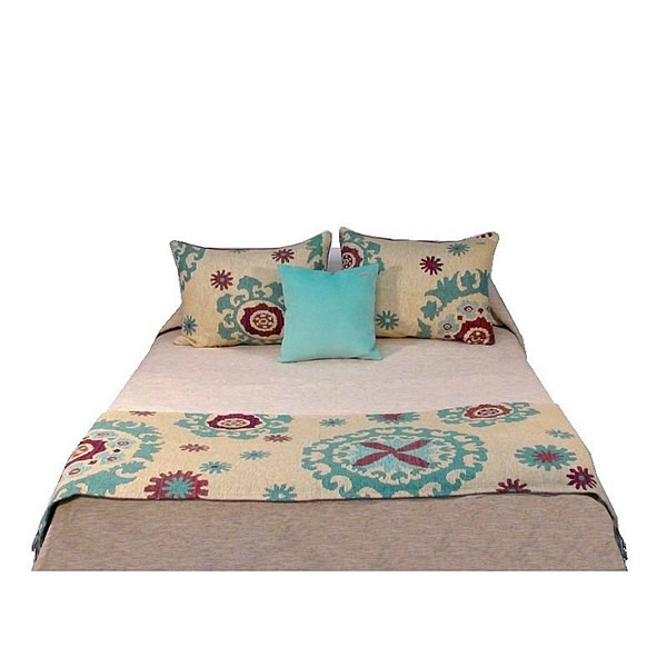 Pie de cama Heloísa ciruela