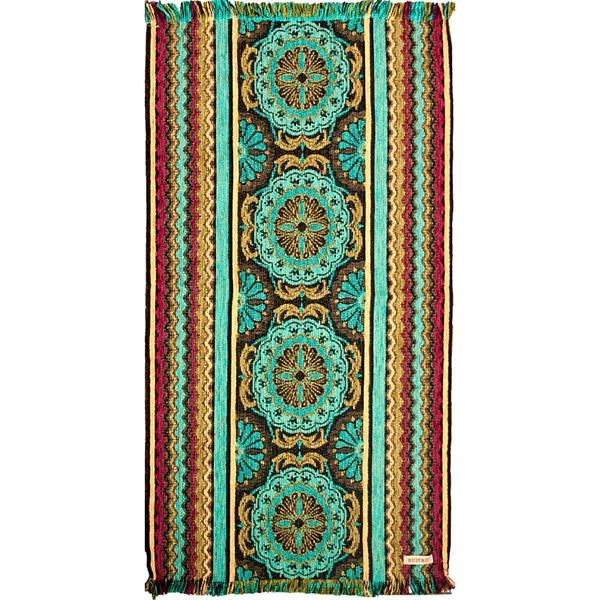 Carpeta azulejo turquesa