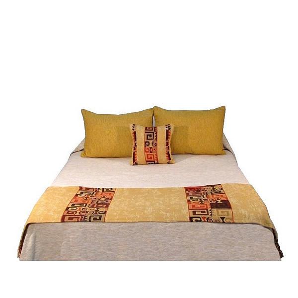 Pie de cama Cuzco beige