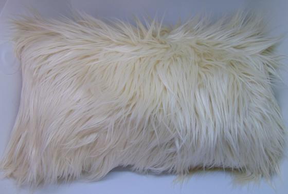 Funda de almohadón pelo largo