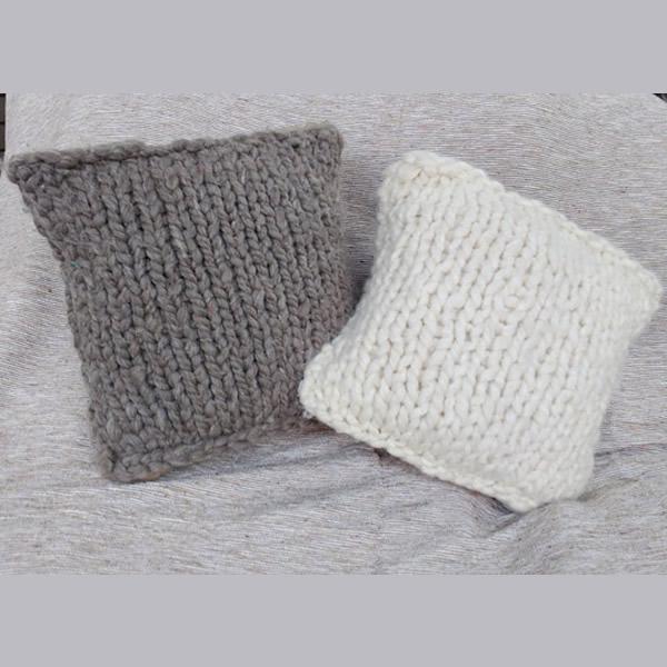 Almohadon lana natural